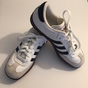 Adidas Samba Black and White Size 6.5